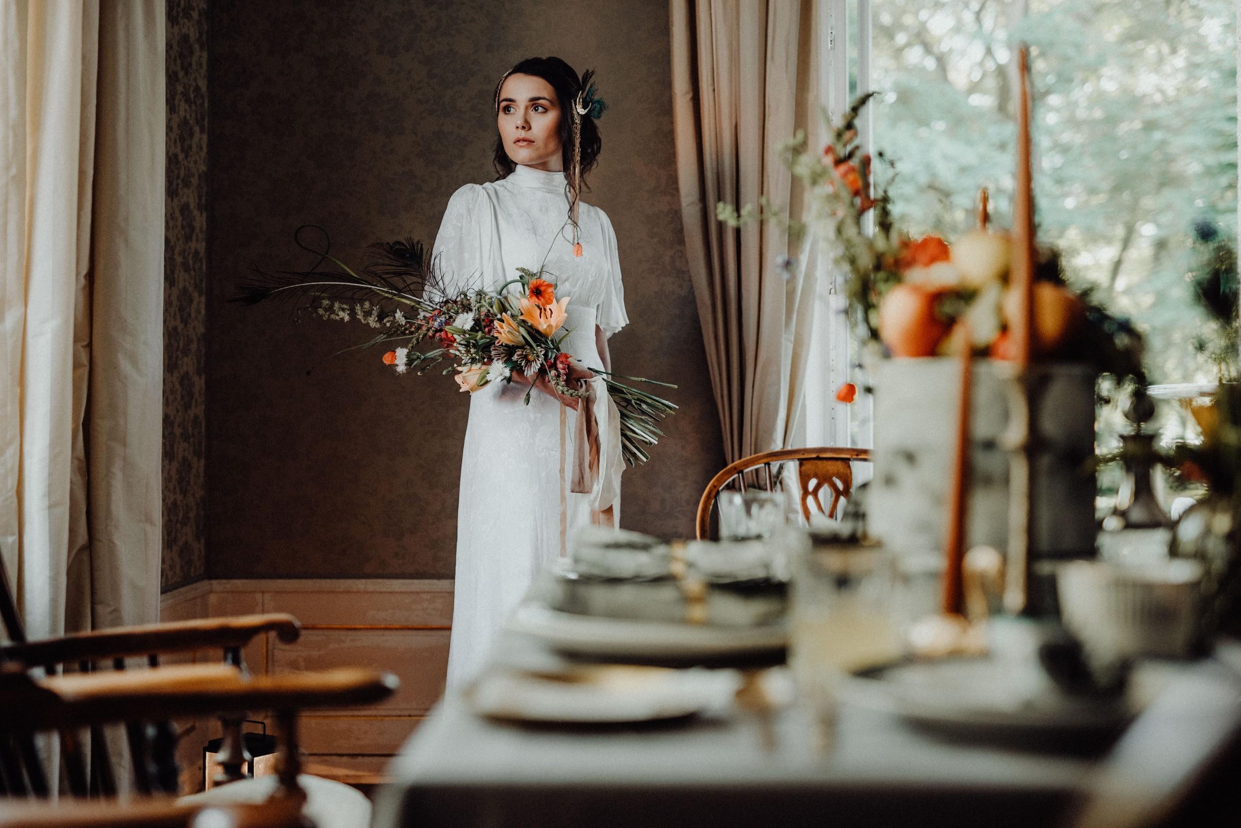 Hochzeitsfotograf Osnabruck Bridal Shoot Im Jugendstil
